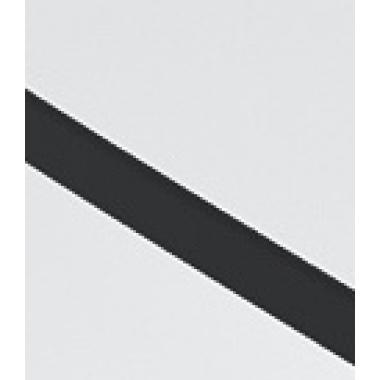 Стол компьютерный Геймер 1 (белый+черный)