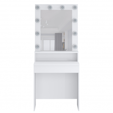 Стол туалетный с подсветкой Париж