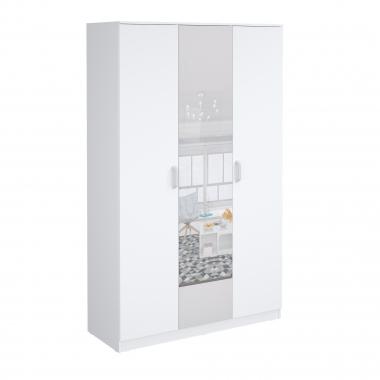 Шкаф гардеробный Париж-1350 с зеркалом