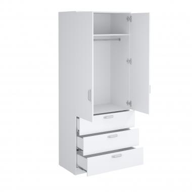 Шкаф гардеробный Париж-900 с ящиками
