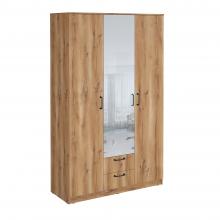 Шкаф гардеробный Сеул 1200 с зеркалом
