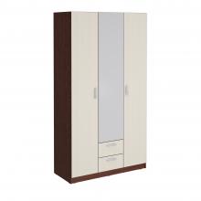 Шкаф гардеробный Уфимка-1200 с зеркалом