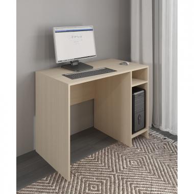 Стол компьютерный 3 (светлый) Уфимка