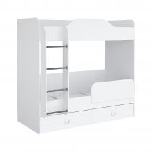 Кровать 1800 (белый) II Baby