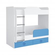 Кровать Baby II (синий)