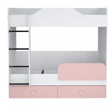 Кровать 1800 (розовый) II Baby