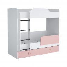 Кровать Baby II (розовый)