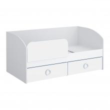 Кровать 1600 (белый) Baby