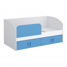 Кровать 1600 (синий) Baby