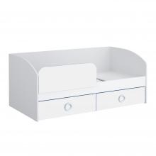 Кровать 1800 (белый) Baby