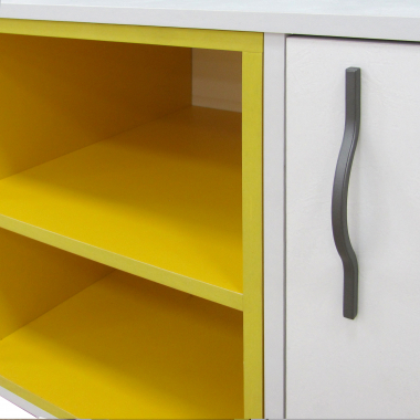 ТВ-тумба 1200 (жёлтый) Junior
