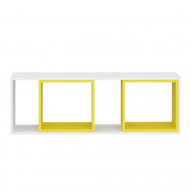 Полка навесная max (жёлтый) Junior