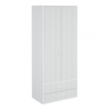Шкаф гардеробный 900 2 ящика Junior