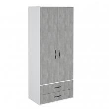 Шкаф гардеробный 900 2 ящика (метрополитен) Junior