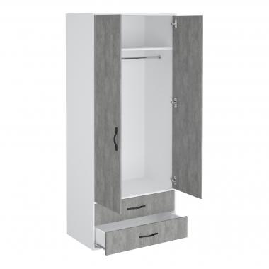 Шкаф гардеробный Junior 900 2 ящика-2