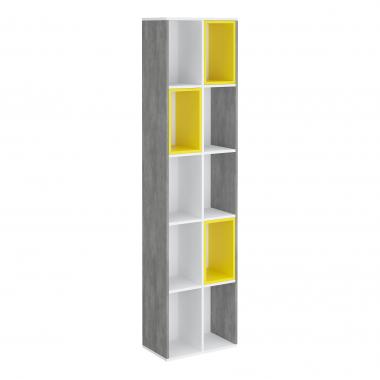 Декор стеллажа 300 (жёлтый) Junior