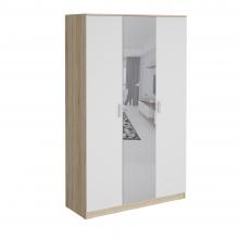 Шкаф гардеробный Салоу 1350 с зеркалом