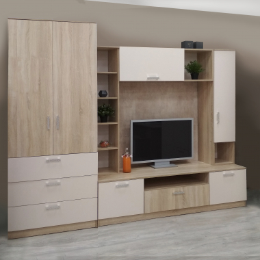 Шкаф гардеробный с 3 ящиками Салоу-900